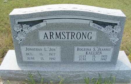 "ARMSTRONG, JONATHAN L. ""JON"" - Garden County, Nebraska   JONATHAN L. ""JON"" ARMSTRONG - Nebraska Gravestone Photos"