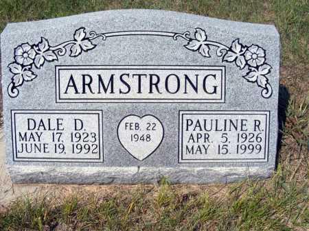 ARMSTRONG, DALE D. - Garden County, Nebraska | DALE D. ARMSTRONG - Nebraska Gravestone Photos