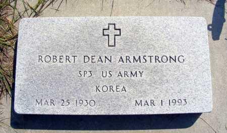 ARMSTRONG, ROBERT DEAN - Garden County, Nebraska | ROBERT DEAN ARMSTRONG - Nebraska Gravestone Photos