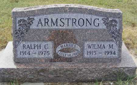 ARMSTRONG, WILMA M. - Garden County, Nebraska | WILMA M. ARMSTRONG - Nebraska Gravestone Photos