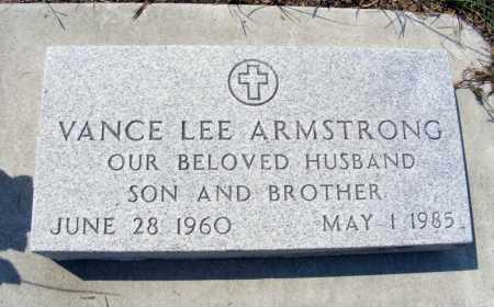 ARMSTRONG, VANCE LEE - Garden County, Nebraska   VANCE LEE ARMSTRONG - Nebraska Gravestone Photos