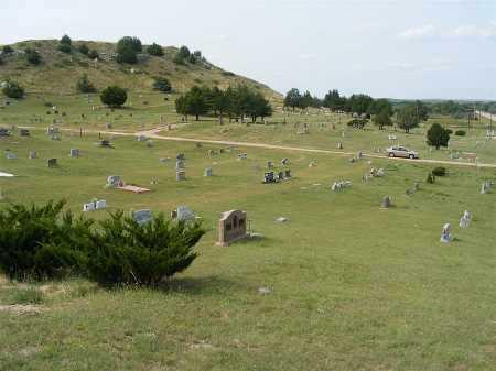 *ASH HOLLOW CEMETERY, VIEW OF - Garden County, Nebraska   VIEW OF *ASH HOLLOW CEMETERY - Nebraska Gravestone Photos