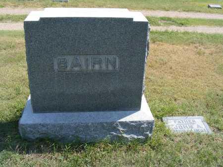 BAIRN, FAMILY - Garden County, Nebraska   FAMILY BAIRN - Nebraska Gravestone Photos
