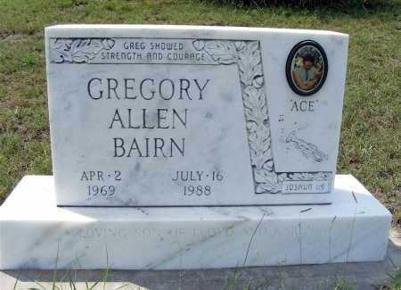 BAIRN, GREGORY ALLEN - Garden County, Nebraska | GREGORY ALLEN BAIRN - Nebraska Gravestone Photos
