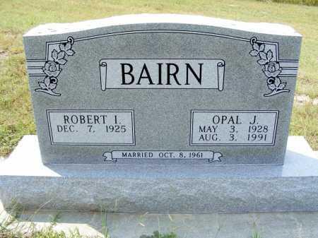 BAIRN, ROBERT I. - Garden County, Nebraska | ROBERT I. BAIRN - Nebraska Gravestone Photos