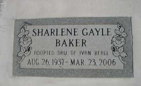 BAKER, SHARLENE GAYLE - Garden County, Nebraska | SHARLENE GAYLE BAKER - Nebraska Gravestone Photos