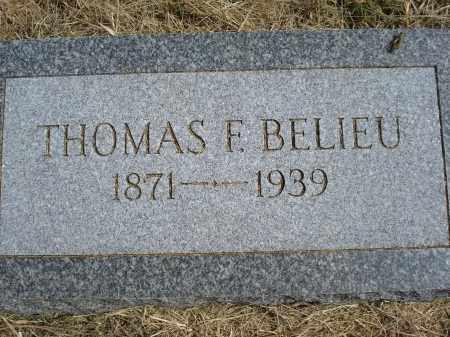 BELIEU, THOMAS F. - Garden County, Nebraska | THOMAS F. BELIEU - Nebraska Gravestone Photos