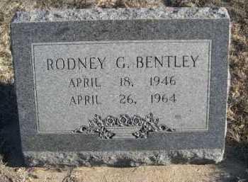 BENTLEY, RODNEY G. - Garden County, Nebraska | RODNEY G. BENTLEY - Nebraska Gravestone Photos