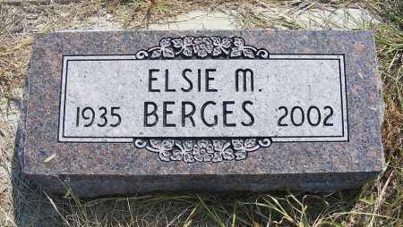 BERGES, ELSIE M. - Garden County, Nebraska | ELSIE M. BERGES - Nebraska Gravestone Photos