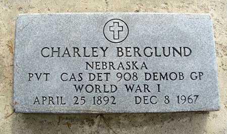 BERGLUND, CHARLEY - Garden County, Nebraska   CHARLEY BERGLUND - Nebraska Gravestone Photos