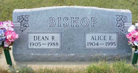 BISHOP, ALICE E. - Garden County, Nebraska | ALICE E. BISHOP - Nebraska Gravestone Photos