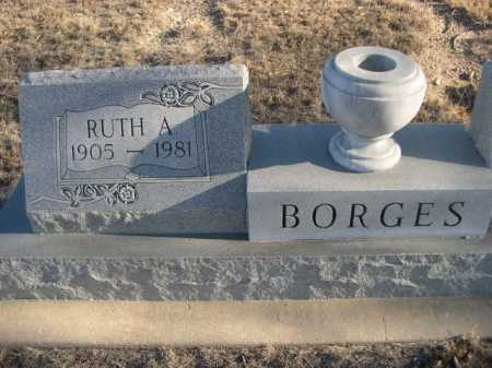 BORGES, RUTH A. - Garden County, Nebraska | RUTH A. BORGES - Nebraska Gravestone Photos