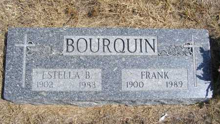 BOURQUIN, ESTELLA B. - Garden County, Nebraska | ESTELLA B. BOURQUIN - Nebraska Gravestone Photos