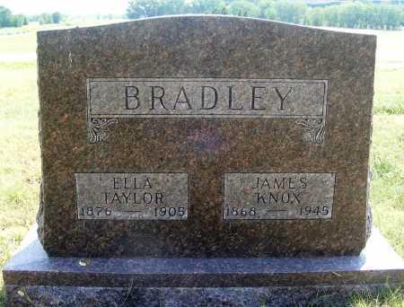 BRADLEY, JAMES KNOX - Garden County, Nebraska | JAMES KNOX BRADLEY - Nebraska Gravestone Photos
