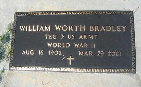 BRADLEY, WILLIAM WORTH - Garden County, Nebraska   WILLIAM WORTH BRADLEY - Nebraska Gravestone Photos