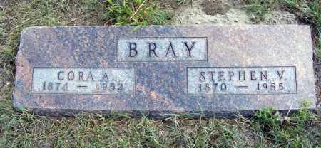 BRAY, STEPHEN V. - Garden County, Nebraska | STEPHEN V. BRAY - Nebraska Gravestone Photos