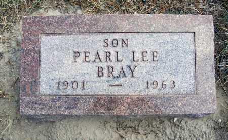 BRAY, PEARL LEE - Garden County, Nebraska | PEARL LEE BRAY - Nebraska Gravestone Photos