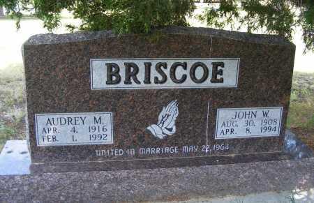 BRISCOE, JOHN W. - Garden County, Nebraska   JOHN W. BRISCOE - Nebraska Gravestone Photos