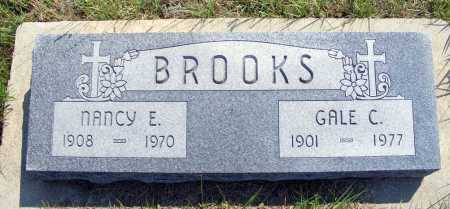 BROOKS, NANCY E. - Garden County, Nebraska | NANCY E. BROOKS - Nebraska Gravestone Photos