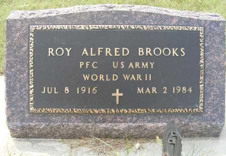 BROOKS, ROY ALFRED - Garden County, Nebraska | ROY ALFRED BROOKS - Nebraska Gravestone Photos