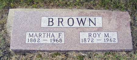 BROWN, ROY M. - Garden County, Nebraska | ROY M. BROWN - Nebraska Gravestone Photos