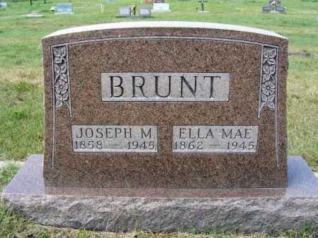 BRUNT, ELLA MAE - Garden County, Nebraska | ELLA MAE BRUNT - Nebraska Gravestone Photos