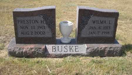 BUSKE, PRESTON H. - Garden County, Nebraska | PRESTON H. BUSKE - Nebraska Gravestone Photos