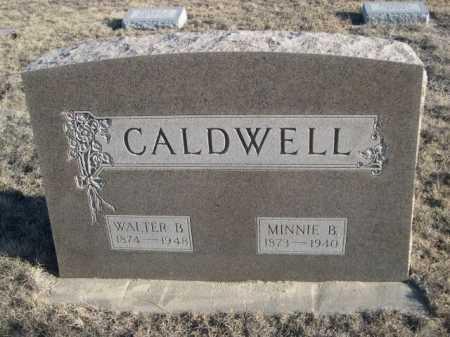 CALDWELL, WALTER B. - Garden County, Nebraska | WALTER B. CALDWELL - Nebraska Gravestone Photos