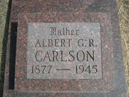 CARLSON, ALBERT G.R. - Garden County, Nebraska | ALBERT G.R. CARLSON - Nebraska Gravestone Photos