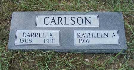 CARLSON, KATHLEEN A. - Garden County, Nebraska   KATHLEEN A. CARLSON - Nebraska Gravestone Photos