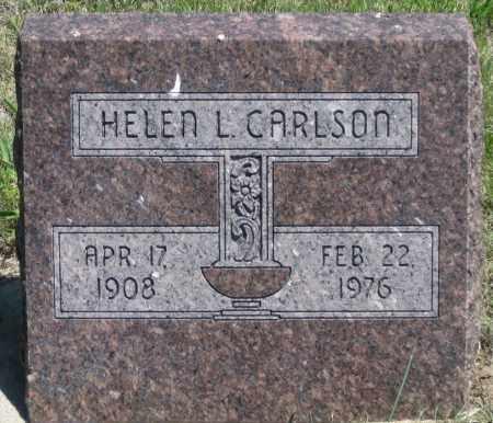 CARLSON, HELEN L. - Garden County, Nebraska   HELEN L. CARLSON - Nebraska Gravestone Photos