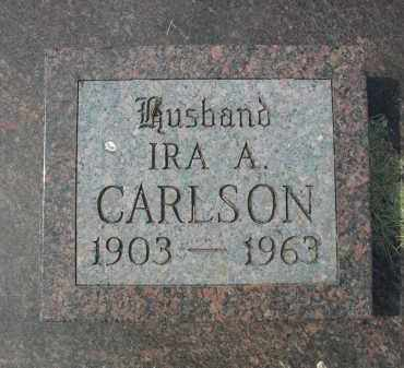 CARLSON, IRA A. - Garden County, Nebraska | IRA A. CARLSON - Nebraska Gravestone Photos