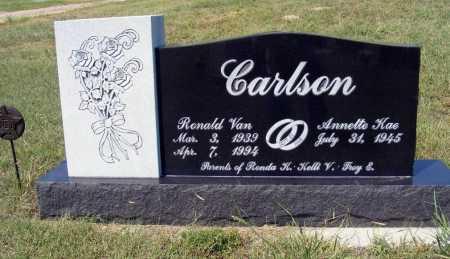 CARLSON, RONALD VAN - Garden County, Nebraska | RONALD VAN CARLSON - Nebraska Gravestone Photos