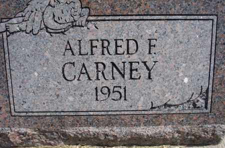 CARNEY, ALFRED F. - Garden County, Nebraska | ALFRED F. CARNEY - Nebraska Gravestone Photos
