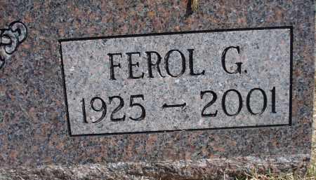 CARNEY, FEROL G. - Garden County, Nebraska   FEROL G. CARNEY - Nebraska Gravestone Photos
