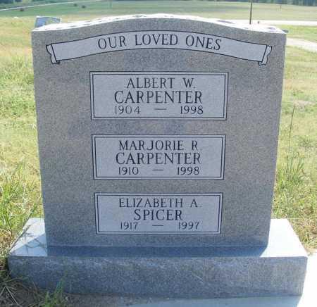 SPICER, ELIZABETH A. - Garden County, Nebraska   ELIZABETH A. SPICER - Nebraska Gravestone Photos