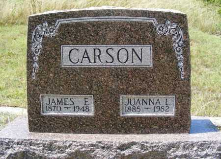 CARSON, JAMES E. - Garden County, Nebraska | JAMES E. CARSON - Nebraska Gravestone Photos