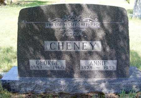CHENEY, ANNIE - Garden County, Nebraska | ANNIE CHENEY - Nebraska Gravestone Photos