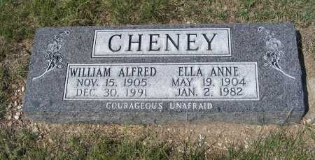 CHENEY, WILLIAM ALFRED - Garden County, Nebraska | WILLIAM ALFRED CHENEY - Nebraska Gravestone Photos