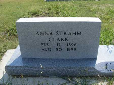 CLARK, ANNA - Garden County, Nebraska | ANNA CLARK - Nebraska Gravestone Photos