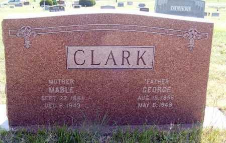 CLARK, GEORGE - Garden County, Nebraska | GEORGE CLARK - Nebraska Gravestone Photos