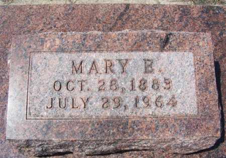 CLARK, MARY E. - Garden County, Nebraska | MARY E. CLARK - Nebraska Gravestone Photos