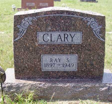CLARY, RAY S. - Garden County, Nebraska | RAY S. CLARY - Nebraska Gravestone Photos