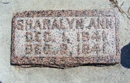 COCHRAN, SHARALYN ANN - Garden County, Nebraska | SHARALYN ANN COCHRAN - Nebraska Gravestone Photos