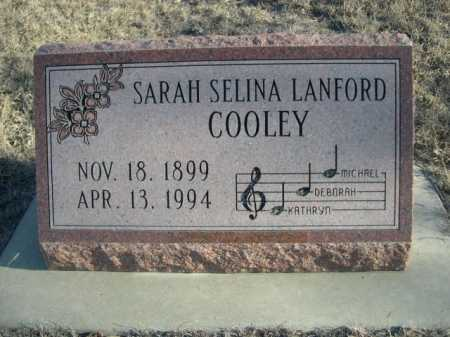 COOLEY, SARAH SELINA - Garden County, Nebraska | SARAH SELINA COOLEY - Nebraska Gravestone Photos