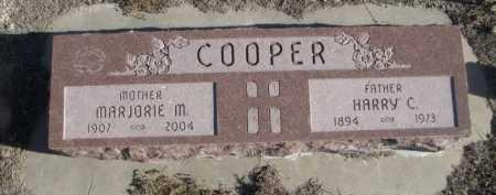 COOPER, MARJORIE M. - Garden County, Nebraska | MARJORIE M. COOPER - Nebraska Gravestone Photos