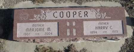 COOPER, HARRY C. - Garden County, Nebraska   HARRY C. COOPER - Nebraska Gravestone Photos