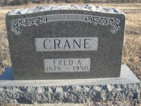 CRANE, FRED A. - Garden County, Nebraska | FRED A. CRANE - Nebraska Gravestone Photos