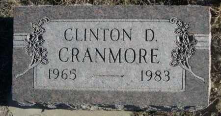 CRANMORE, CLINTON D. - Garden County, Nebraska | CLINTON D. CRANMORE - Nebraska Gravestone Photos