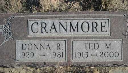 CRANMORE, TED M. - Garden County, Nebraska | TED M. CRANMORE - Nebraska Gravestone Photos